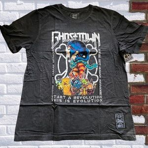 Iron Fist Athletic Ghost town men's graphic Tee